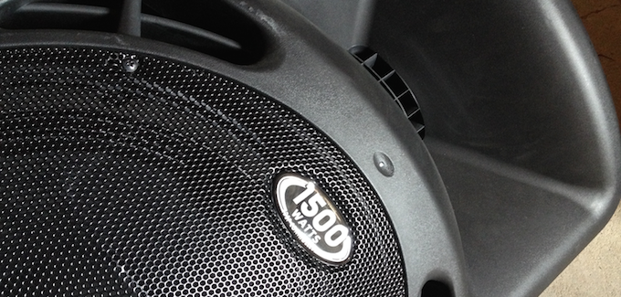 Review: Behringer B615D Powered Loudspeakers