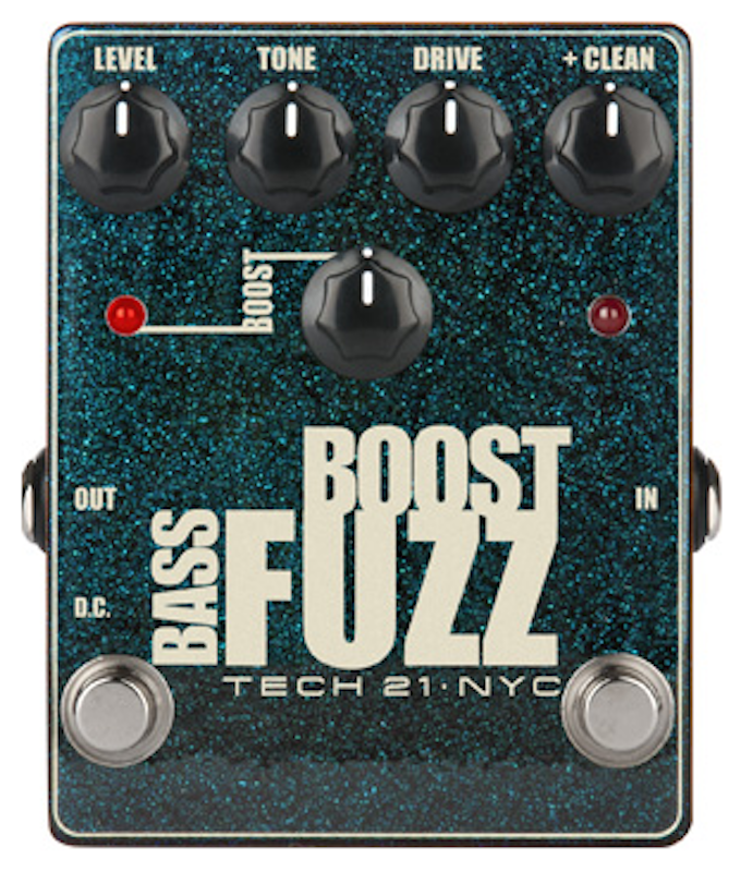 Review: Tech 21 Bass Boost Fuzz