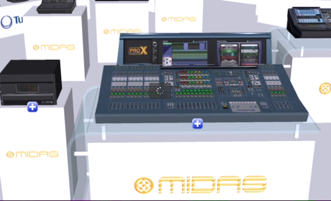 NAMM:Take A Virtual Tour Of The Music Group Booth