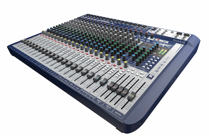 New@NAMM: Signature Series Analog Mixing Consoles