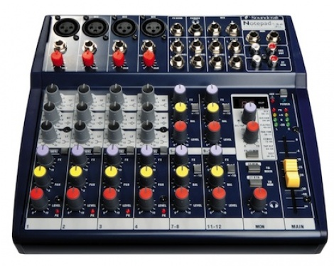 Review: Soundcraft Notepad 124FX PA Mixer
