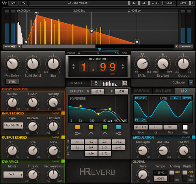 H-Reverb Plug-In Now Available