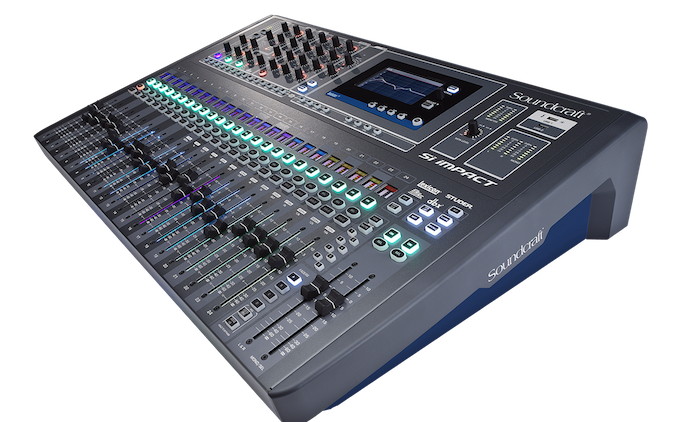 "Soundcraft Redefines ""Affordable"" Mixing with Si Impact Digital Console"