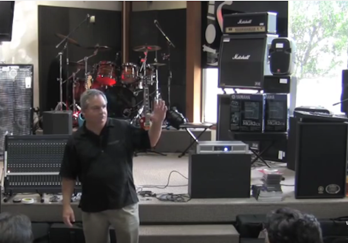 Live Sound Basics From John Schauer