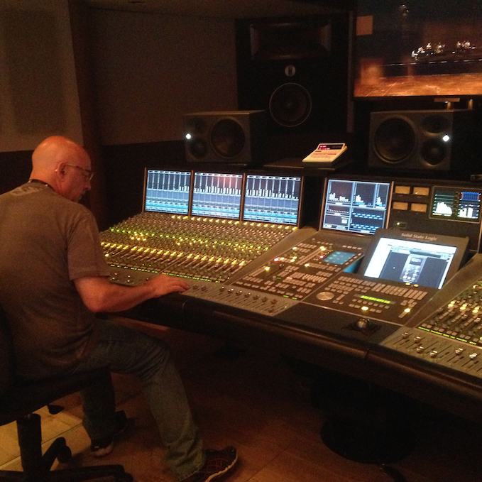 Mixing Montreux Jazz Festival 2015
