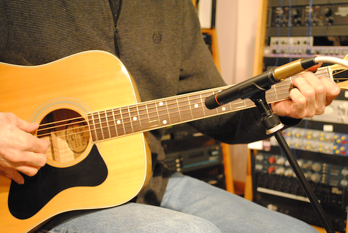 Tips for Recording Acoustic Guitar