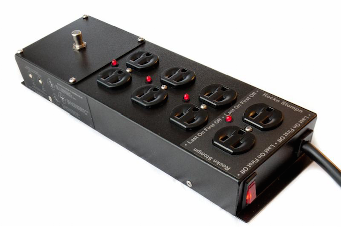 Rockn Stompn Updates Sequential Power Strip