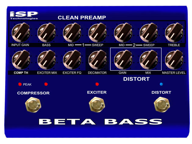 ISP Beta Bass Preamp