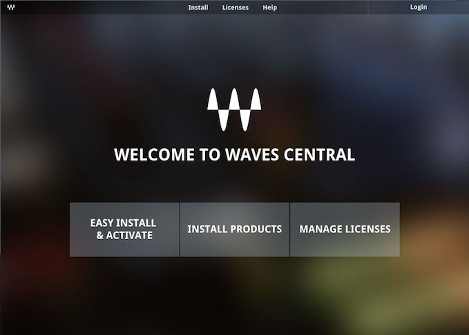 Waves Audio Announces Waves Central