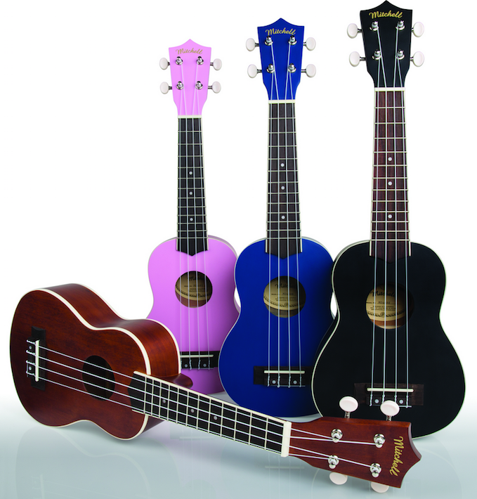 Mitchell Introduces Soprano Ukulele Line