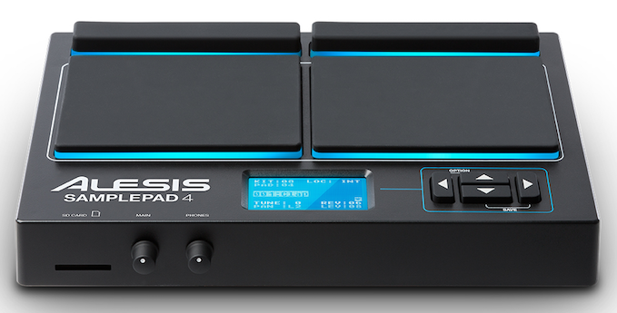 Sample Pad 4 From Alesis Coming Shortly
