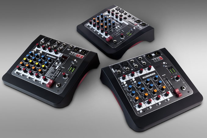 Allen And Heath's New Zed Mini Mixers