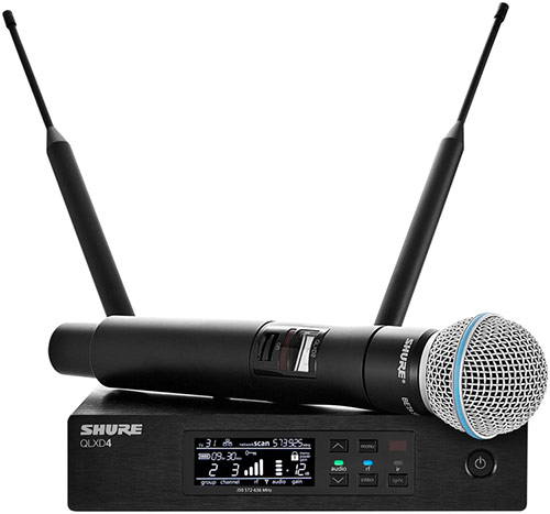 Review: Shure QLX-D Wireless Mics