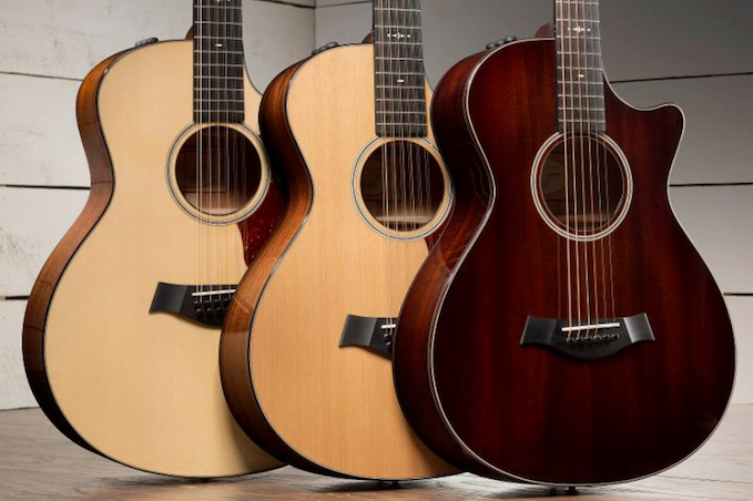 @NAMM: Taylor Debuts Redesigned 500 and 300 Series Models