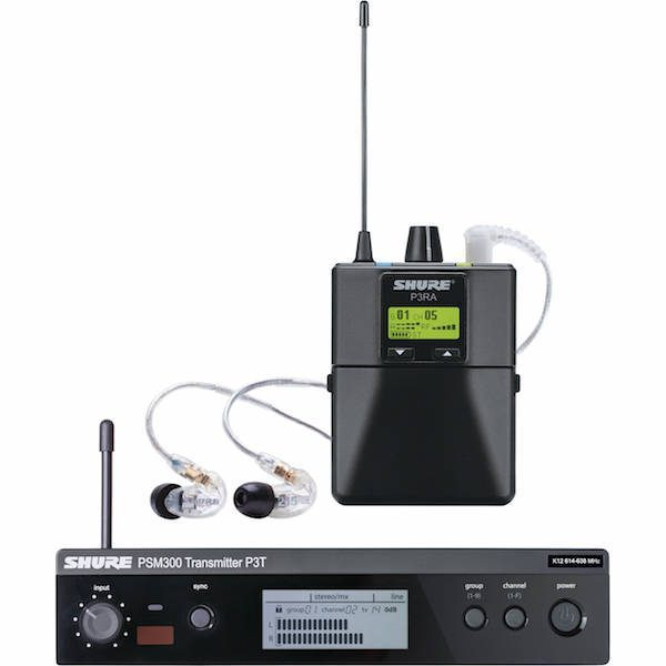 Road Test Gear Review Shure Psm 300 In Ear Monitor System