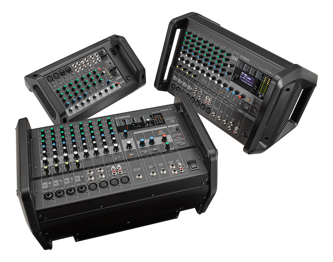 Yamaha EMX Series Delivers Powerful Performance, Greater Portability and Updated Look