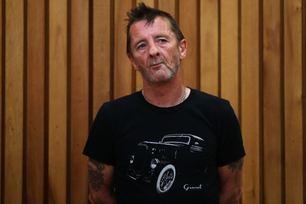 On Tour: Phil Rudd