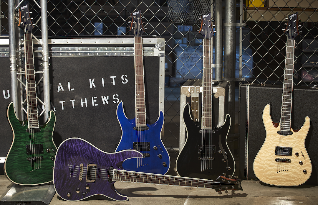 Mitchell Debuts Line of Premium Electric Guitars and Basses