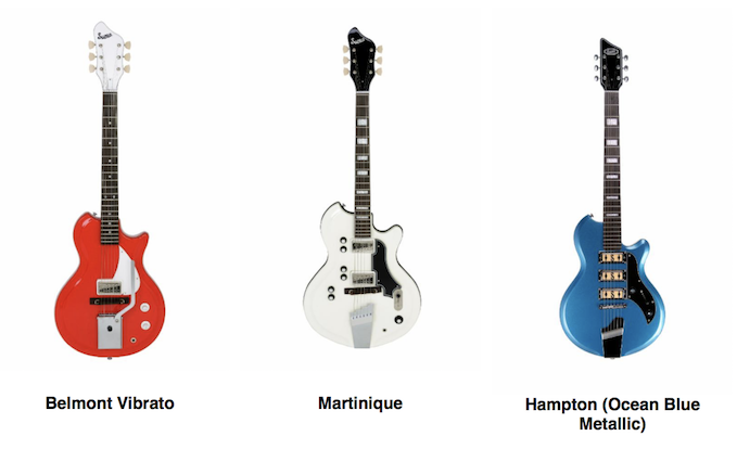 Supro's Historic Reso-glass Guitar Reissues