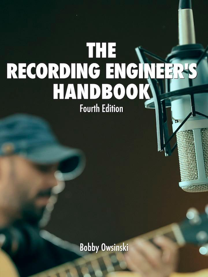 4th Edition Of Recording Engineer's Handbook Now Available