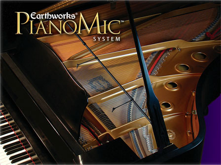 A New Way To Mic Pianos – Earthworks PianoMic System
