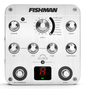 FISHMAN AURA® & AFX PEDALS WIN iF DESIGN AWARD
