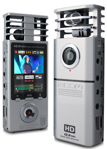 Q3HD=Stereo Recording+HD Video