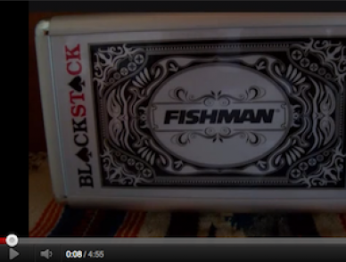 Fishman Blackstack Pickup Installation and Review