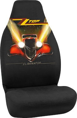Rock-N-Ride Seat Covers Turn Up The Volume In Car Decor
