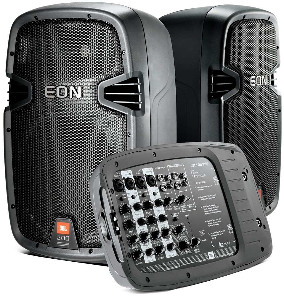 Review: JBL EON 210 Portable PA