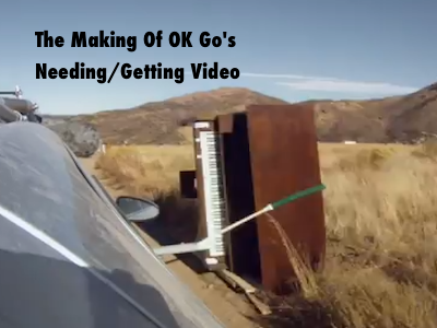 OK Go's Needing/Getting