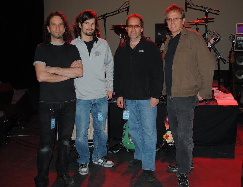 Crew of the Week: Todd Rundgren's Utopia Tour 2011