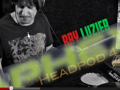 Walk Through The Aphex Headpod 4 With KORN Drummer Ray Luzier