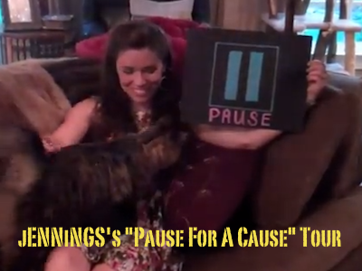 "jENNiNGS's ""Pause For A Cause"" Tour"
