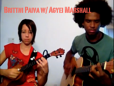 Brittni Paiva w/ Agyei Marshall on guitar