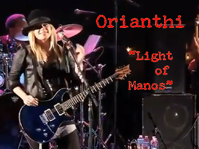 Orianthi — Light Of Manos