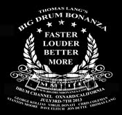Thomas Lang's Drum Bonanza 2013