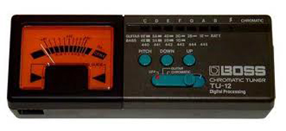 Electronic Bass Tuners