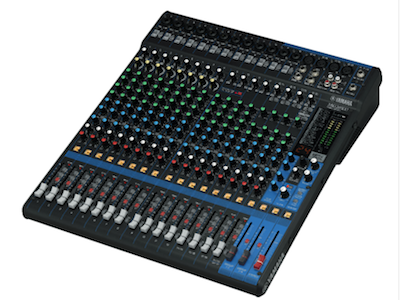 Yamaha Revamps MG Series Mixers