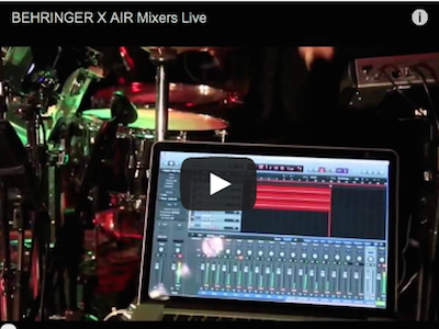 Behringer's new X AIR Series