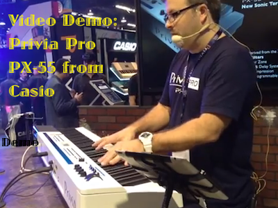 Video Demo: Privia Pro PX-5S