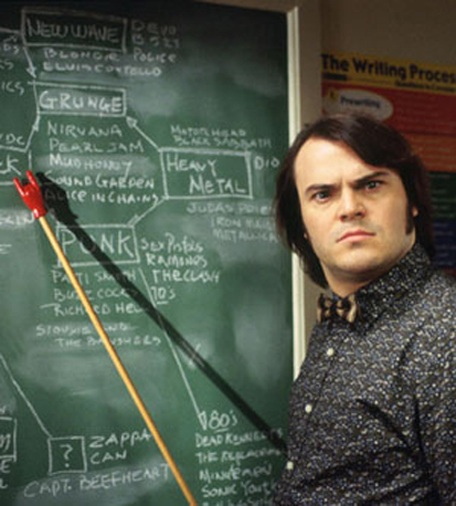 Marketing 101 the other school of rock