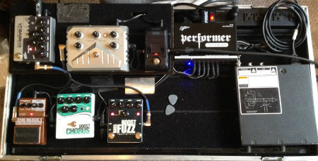 Scott Woodward's Bass Pedal Board