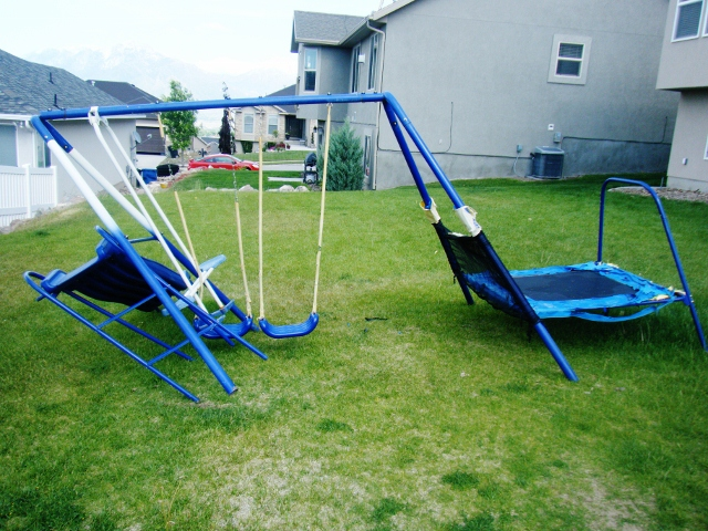 Broken Swing Set - Will you Play on it?