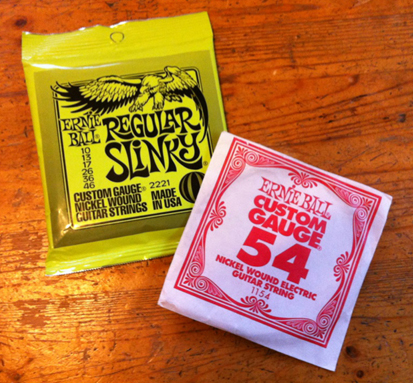 ernie ball with extra string 060513